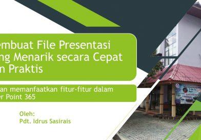 Membuat file presentasi yang menarik secara cepat dan praktis
